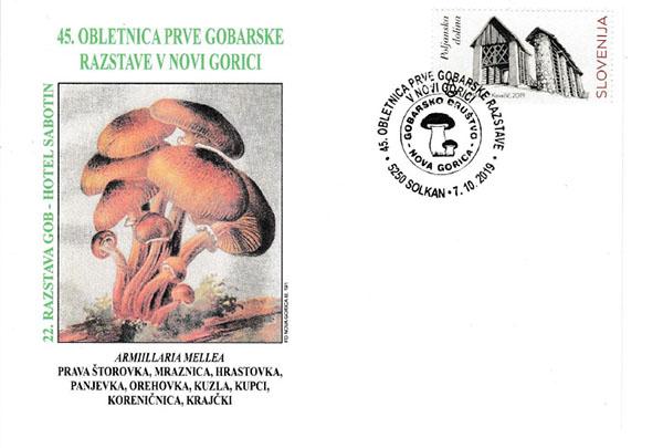Filatelistična in gobarska razstava v Novi Gorici