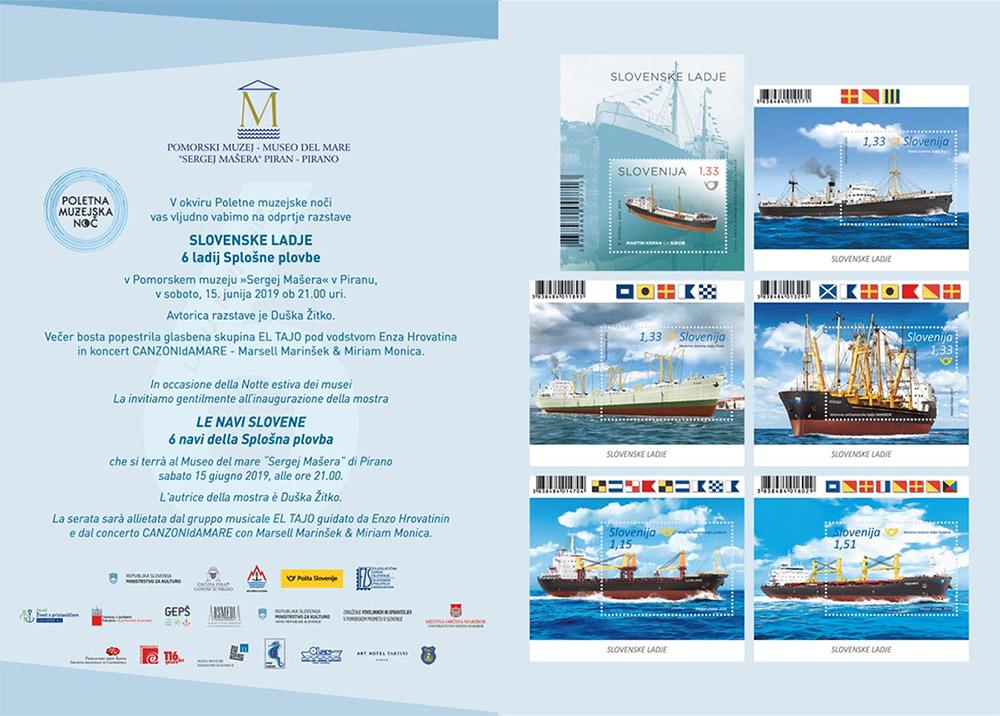 Odprtje razstave - 6 ladij Splošne plovbe
