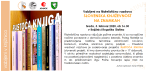 Filatelistična razstava KNJIŽEVNOST NA ZNAMKAH avtorja Toneta Petka