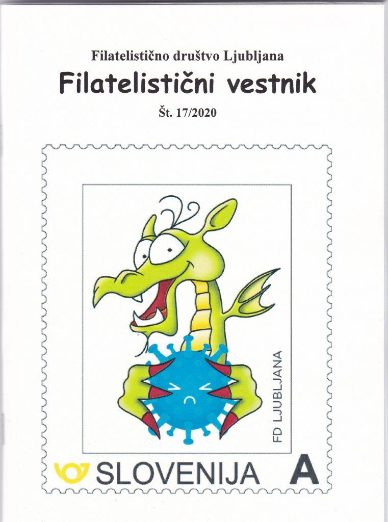 17. številka Filatelističnega Vestnika FD Ljubljana