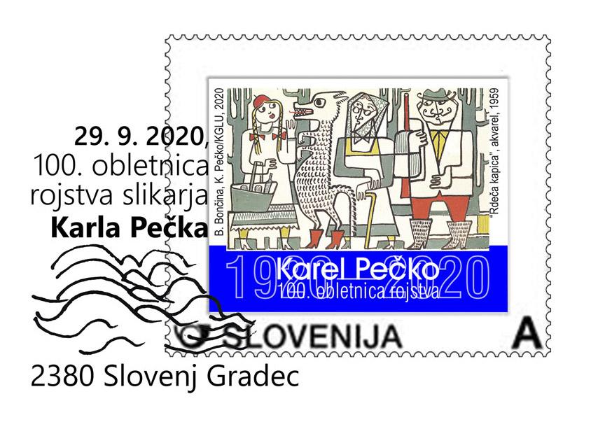 100. obletnica rojstva akademskega slikarja Karla Pečka
