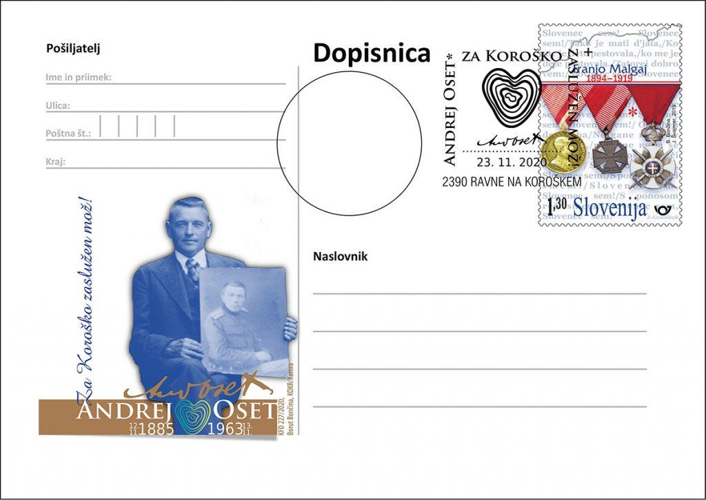 135. obletnica rojstva Andreja Oseta