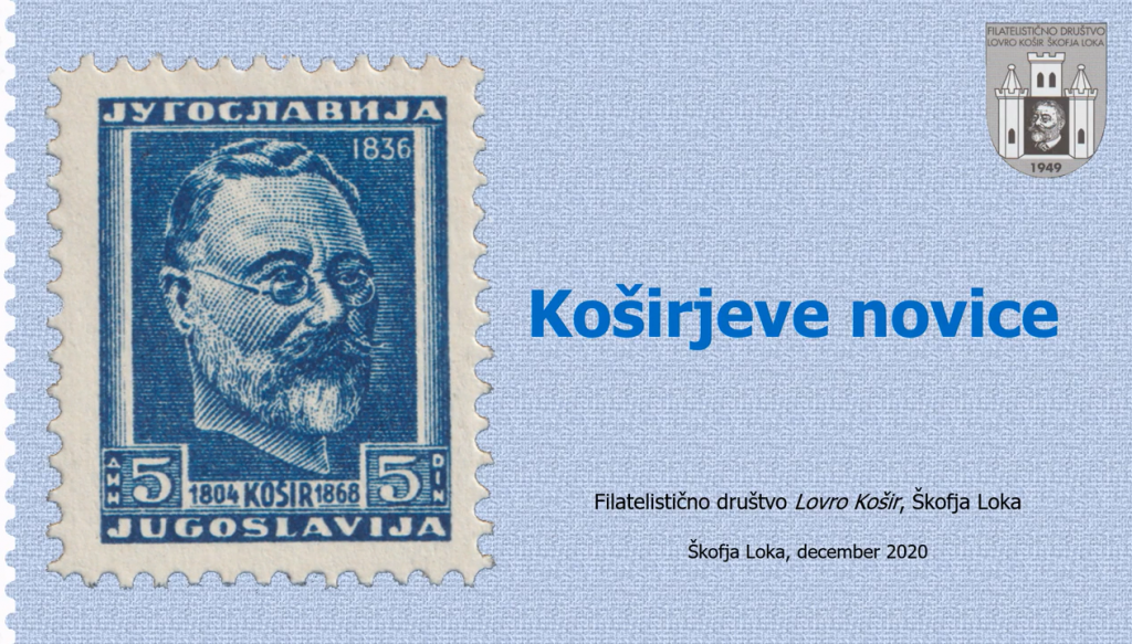 FD Lovrenc Košir je izdalo prednovoletno številko Koširjevih novic