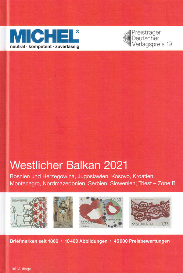 Založba Schwaneberger je maja letos izdala nov katalog Zahodnega Balkana