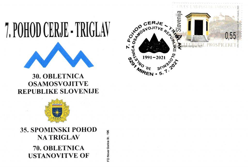 Spominski pohod Cerje - Triglav
